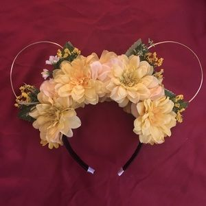 Disney Mickey Flower headband ears